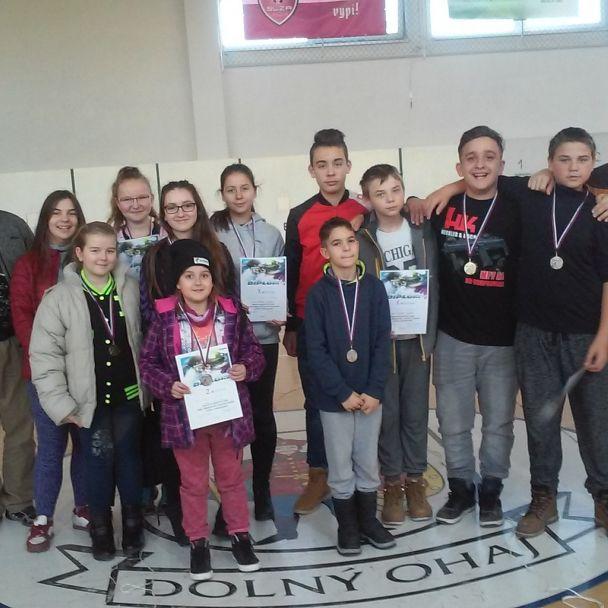 Majstrovstvá okresu Nové Zámky základných škôl v streľbe zo vzduchovky 2017