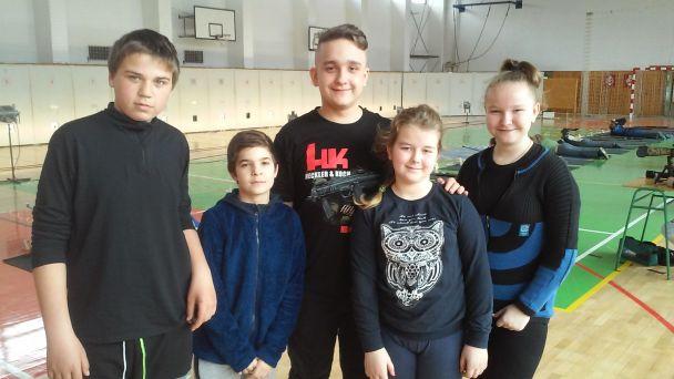 Majstrovstvá Nitrianskeho kraja žiakov základných škôl v streľbe zo vzduchovky