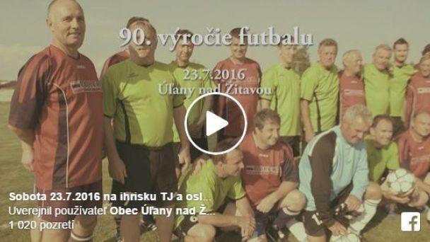 90. výročie futbalu v obci