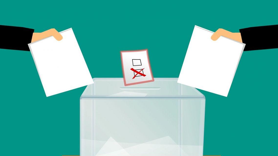 Uverejnenie výsledkov volieb